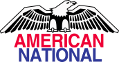 small american national logo